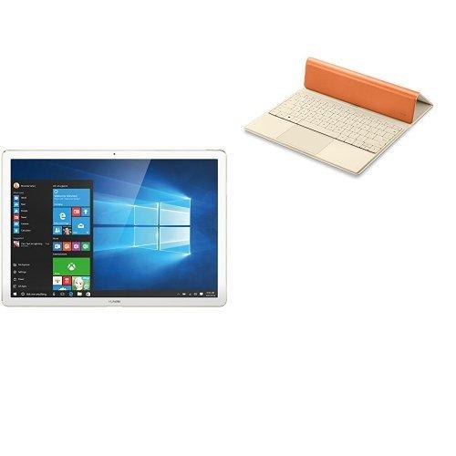 HUAWEI Matebook M5-4G-128G-5MP Gold + Portfolio Keyboard Orange セット