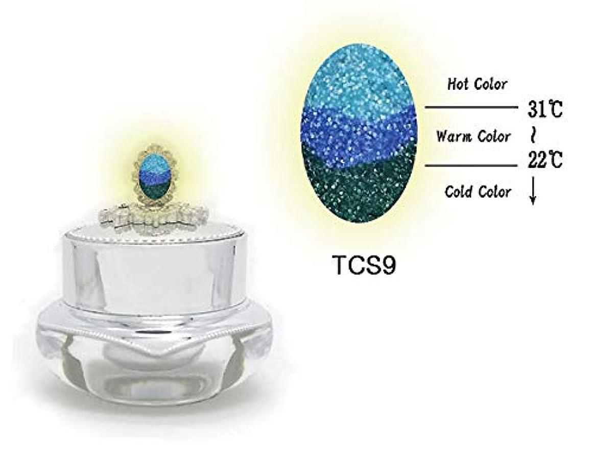 スチール熱心人生を作るKENZICO (ケンジコ) Triple Sugar Gel一般用3g 【TCS9】 3つの色に変わる夜光ジェル トリプルシュガージェル
