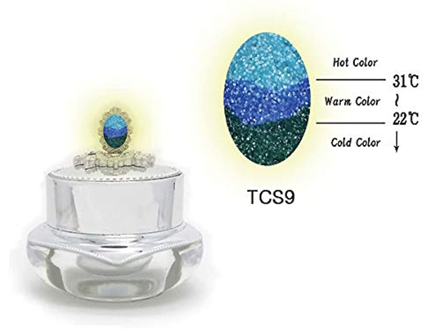 KENZICO (ケンジコ) Triple Sugar Gel一般用3g 【TCS9】 3つの色に変わる夜光ジェル トリプルシュガージェル