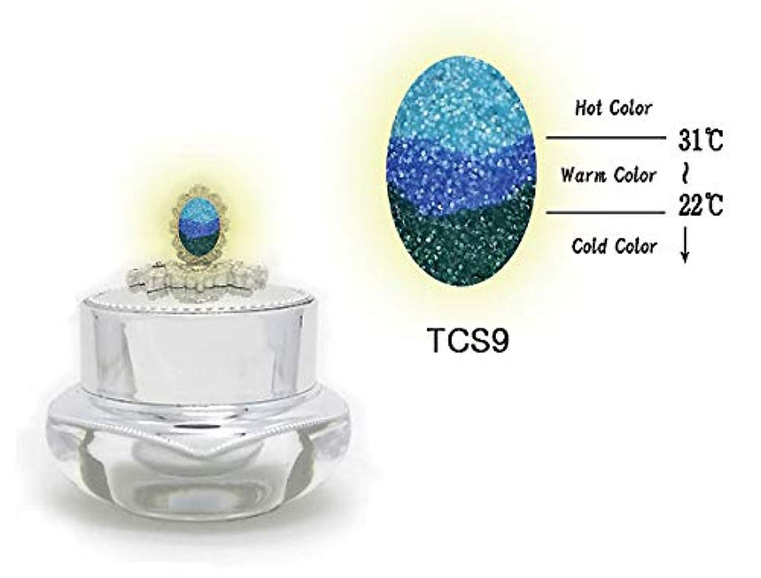 君主空気委任するKENZICO (ケンジコ) Triple Sugar Gel一般用3g 【TCS9】 3つの色に変わる夜光ジェル トリプルシュガージェル
