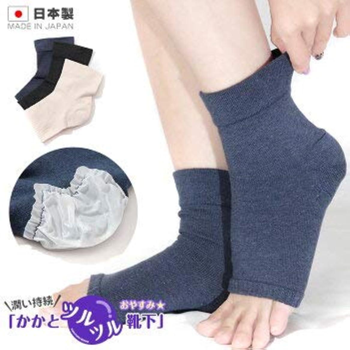 法医学検証区画かかと 角質ケア ひび割れ対策 かかとツルツル靴下 オープントゥ フリーサイズ 太陽ニット 848 (ピンク)