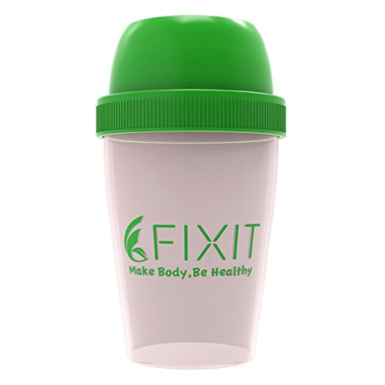 インレイ病な収容する【 FIXIT 】 プロテイン シェイカー 300ml ホエイプロテイン プロテイン用 シェーカー
