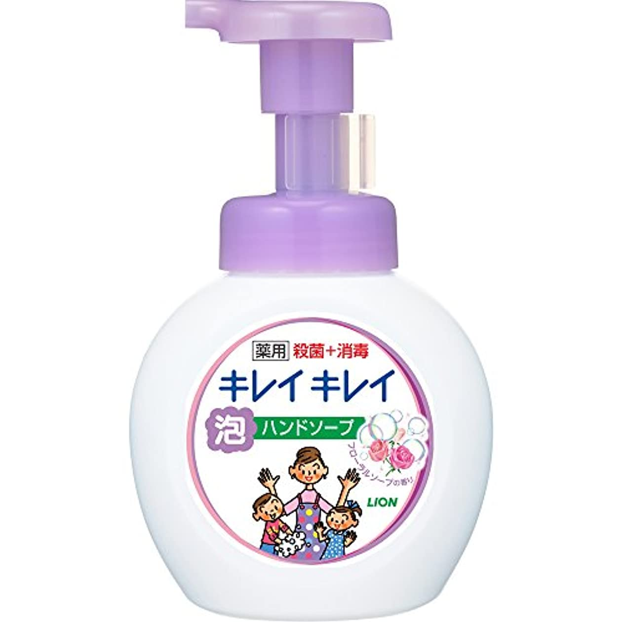 下るアート準拠キレイキレイ 薬用 泡ハンドソープ フローラルソープの香り 本体ポンプ 250ml(医薬部外品)