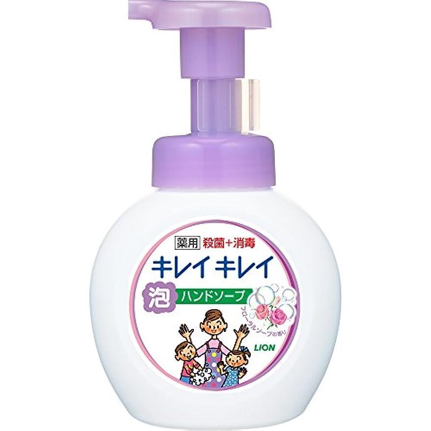 薄める流出カウンタキレイキレイ 薬用 泡ハンドソープ フローラルソープの香り 本体ポンプ 250ml(医薬部外品)