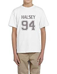 プライベートカスタム ボーイとガール クローサー ホールジー 半袖シャツ 100%棉 White