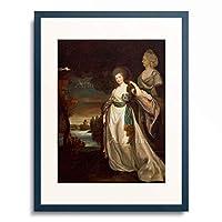 リチャード・ブロンプトン Richard Brompton 「Bildnis der Furstin a. Branitskaya. 1778/1781.」 額装アート作品