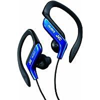 JVC HA-EB75-A イヤホン 耳掛け式 防滴仕様 スポーツ用 ブルー