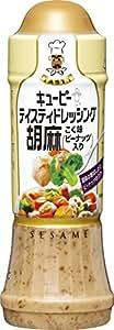 キユーピー テイスティドレッシング 胡麻こく味 210ml×3本