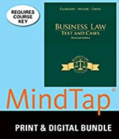 Bundle: Business Law: Text and Cases 13th + MindTap Business Law 2 terms (12 months) Printed Access Card [並行輸入品]