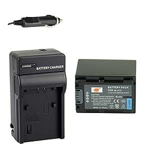 DSTE® アクセサリーキット NP-FV70 互換 カメラ バッテリー 1個+充電キット対応機種 DCR-SR15 SX83E SX43E HDR-CX380 CX430V PJ760V