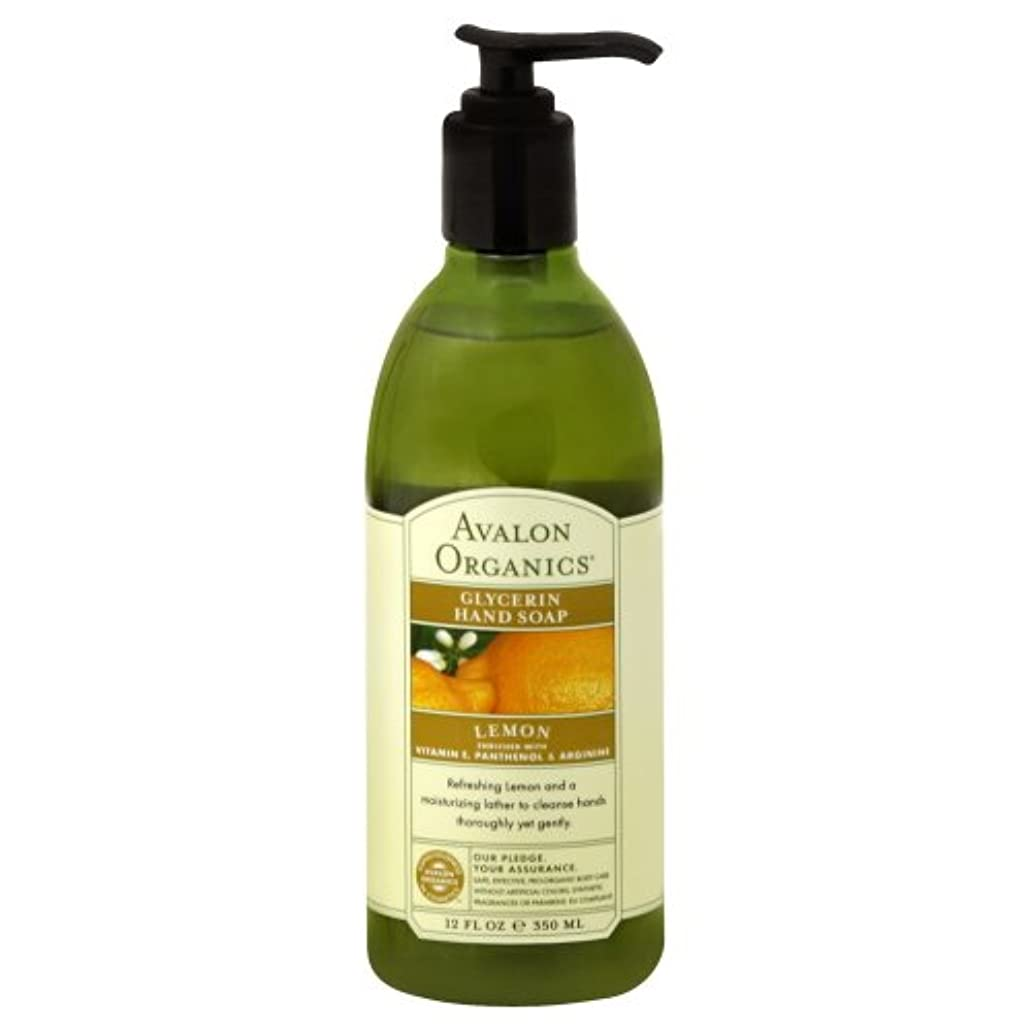 過敏な補足ジャズAVALON Lemon Hand Soap 350ml by Avalon