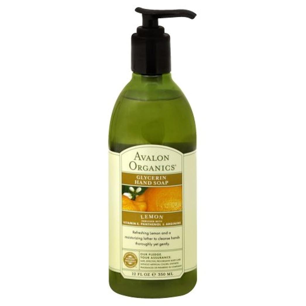 慈善悩むクレアAVALON Lemon Hand Soap 350ml by Avalon