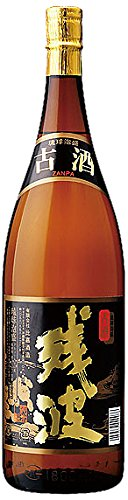 残波 古酒 泡盛 瓶 43度 1800ml
