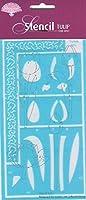 Pergamano Stencil Tulip [並行輸入品]