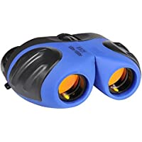 FA _valley 8 x 21双眼鏡 キッズ用 バードウオッチング 野生生物観察 景色ゲーム観戦 ミニコンパクトで画像安定 子供用ギフトに最適(オレンジ)