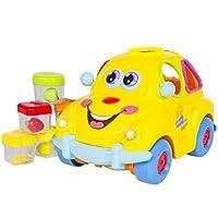 Electric Car Toy点滅フロントバックライトと音楽、Bump ' N 'go、Shape Sorter