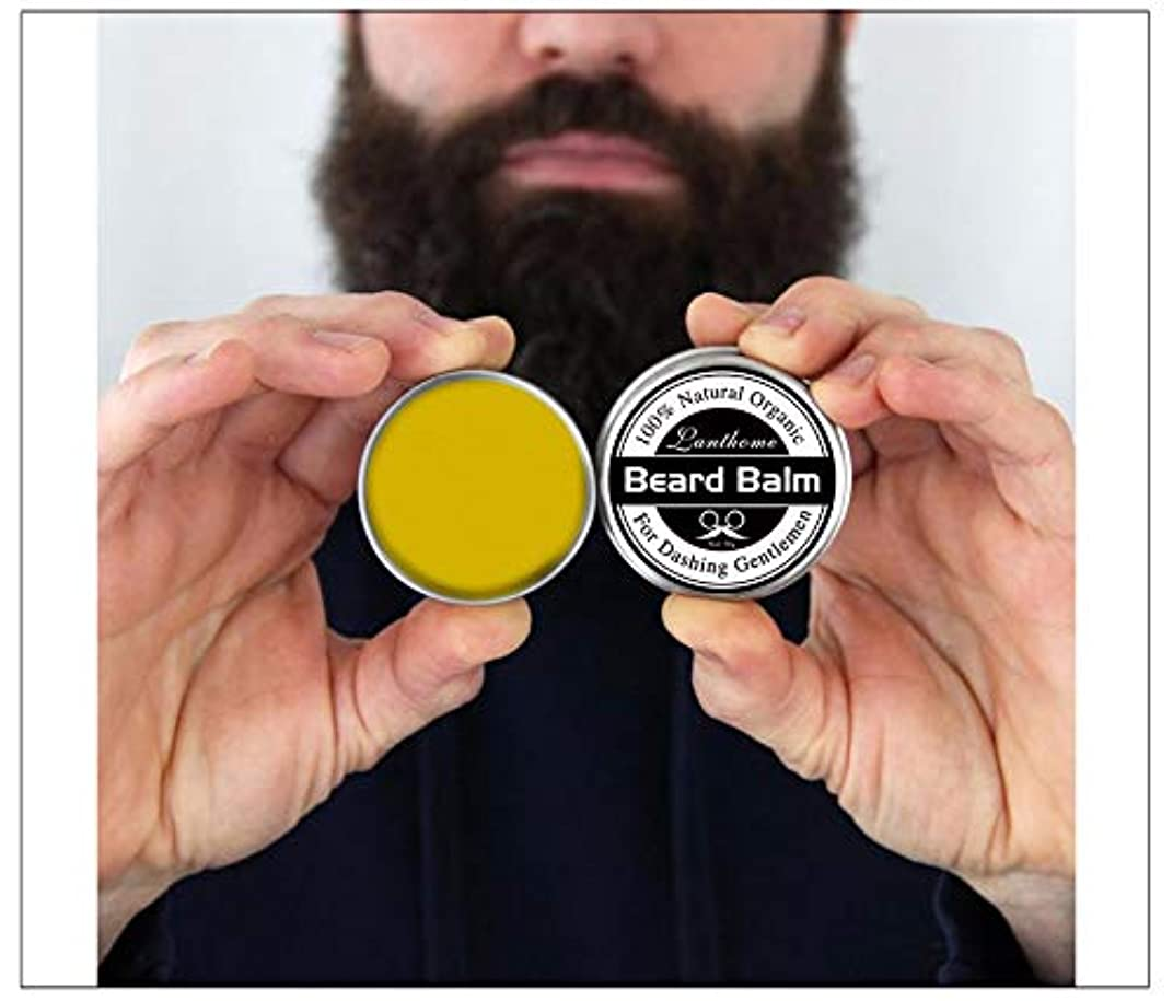 かみそりに向けて出発リス3pcs X Top Quality 30gr Natural Beard Conditioner Beard Balm For Beard Growth And Organic Moustache Wax For Beard...