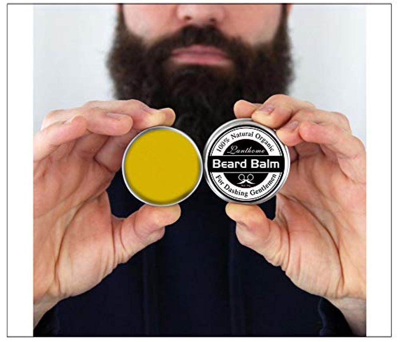 慰め請負業者解体する3pcs X Top Quality 30gr Natural Beard Conditioner Beard Balm For Beard Growth And Organic Moustache Wax For Beard...