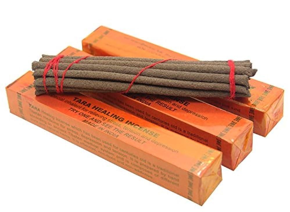誇張する信頼できる避難するIncense Tara Healing Tibetan Incense, 5.5