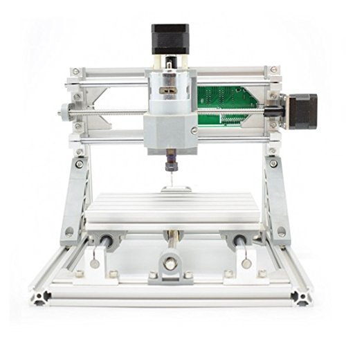 DIY CNCルータキット CNC1610 16x10x4.5cm ミニフライス盤 USBデスクトップ彫刻機、木材、木工用 - DIY CNC Router Kit CNC 1610 Mini PCB Milling Machine USB Desktop Engraving Machine, For Wood, Woodworking