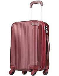 スーツケース (Lサイズ(7泊以上/88(拡張時102)L), ワインレッド)