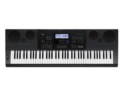 카시오 전자 키보드 76표준건 하이 그레이드 타입 WK-6600 블랙-WK-6600