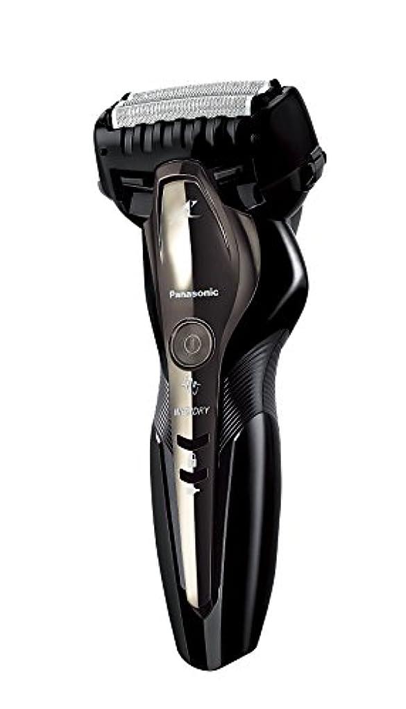 洋服アテンダント組み込むパナソニック ラムダッシュ メンズシェーバー 3枚刃 お風呂剃り可 黒 ES-ST2P-K