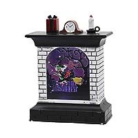 Vosarea ハロウィーンは、暖炉の形のランタンヴィンテージナイトライトの装飾が用品を支持