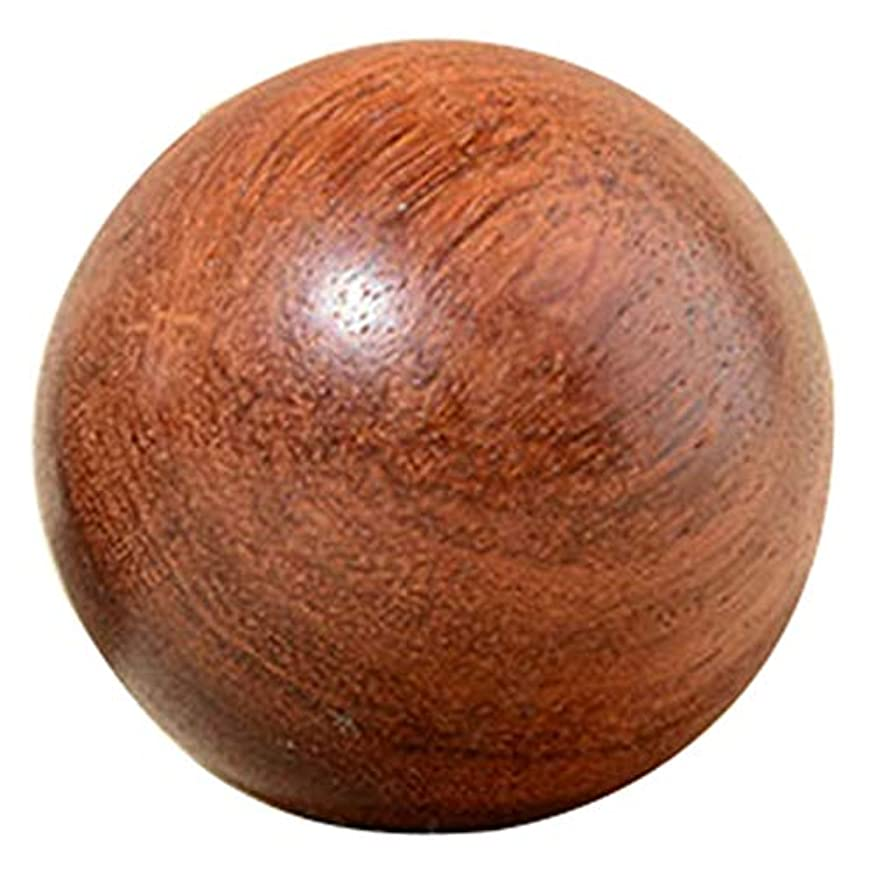 味方霊内部ACAMPTAR 5Cm 木製圧力Baodingボール、健康運動用ハンドボール、指のマッサージ、中国健康瞑想リラクゼーション療法