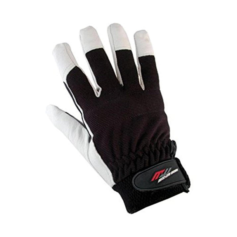 考えたチップマイクロフォンミタニコーポレーション ブタ革手袋フィットンPRO 209171 1双入 【×5セット】