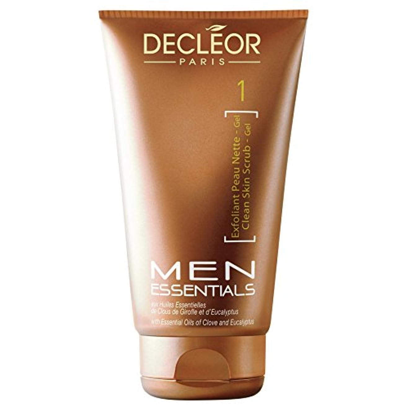 [Decl?or ] 125ミリリットル男性のためデクレオール剥脱クレンジングジェル - Decl?or Exfoliant Cleansing Gel For Men 125ml [並行輸入品]