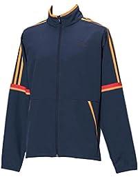 adidas(アディダス) メンズ トレーニングウェア エッセンシャルズ レトロスポーツ クロスジャケット ネイビー ETZ97
