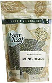 Four Leaf Milling Organic Mung Beans, 350 g