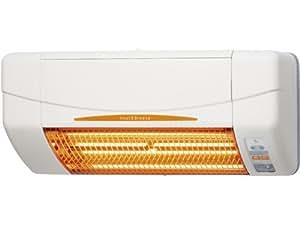 高須産業(TSK) 涼風暖房機 脱衣所・トイレ・小部屋用 非防水仕様 ホワイト SDG-1200GS