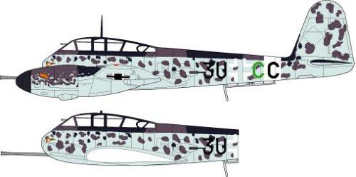 1/72 WWII ドイツ空軍駆逐機 メッサーシュミット Me410 B-1/U4 「ホルニッセ」