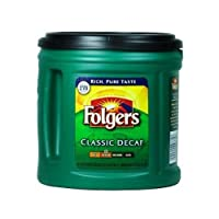 Folgers コーヒー (デカフェ) お徳用 865g [並行輸入品]