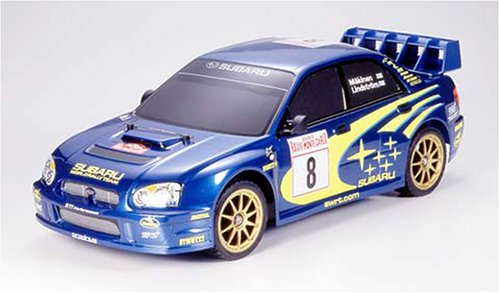 1/10 電動ラジオコントロールカー シリーズ インプレッサWRC2003