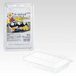 サンナップ フードパック お弁当平方 L 14×22×5.2cm 5組 F-2L