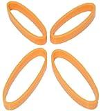 UNICO(ユニコ) B.free スマホルダー用シリコンバンド オレンジ(大小2セット)