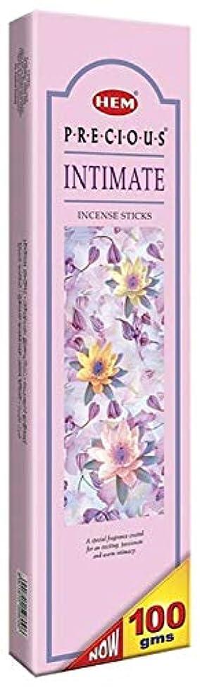 ペーススキーフィドルHem Precious Intimate Agarbatti - 100 g