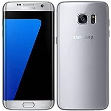 Samsung Galaxy S7 Edge G9350 Dual SIM Smartphone 32GB Silver (Renewed)