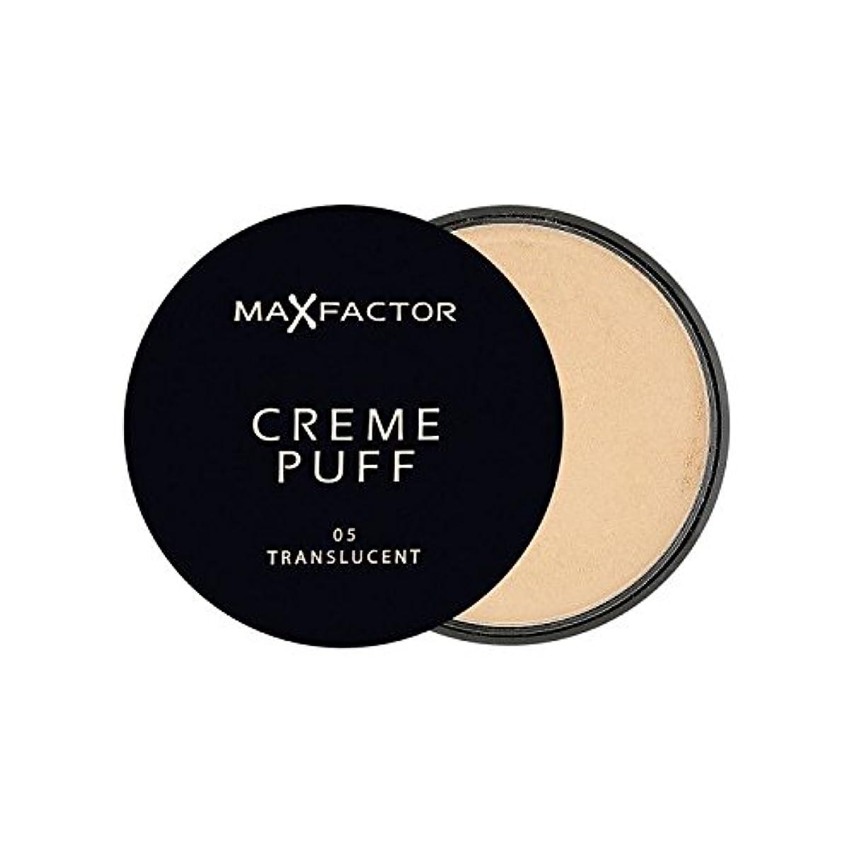準備ができてよく話されるランチョンマックスファクタークリームパフパウダーコンパクト半透明5 x2 - Max Factor Creme Puff Powder Compact Translucent 5 (Pack of 2) [並行輸入品]