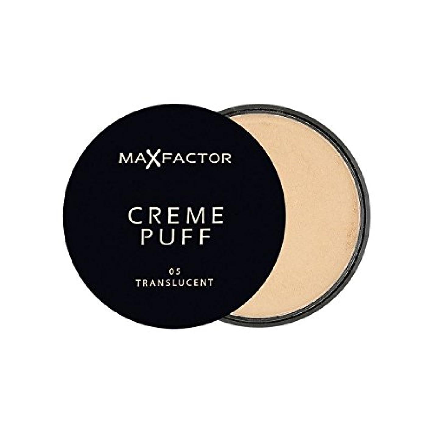 ミル毎週不利益Max Factor Creme Puff Powder Compact Translucent 5 (Pack of 6) - マックスファクタークリームパフパウダーコンパクト半透明5 x6 [並行輸入品]