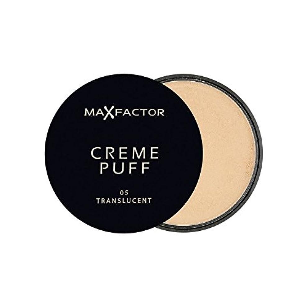 ターミナル有毒な移行するマックスファクタークリームパフパウダーコンパクト半透明5 x2 - Max Factor Creme Puff Powder Compact Translucent 5 (Pack of 2) [並行輸入品]