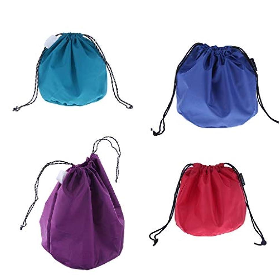 風邪をひく作業評議会DYNWAVE ポット収納袋 巾着袋 食器バッグ ポット収納袋 4個セット