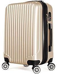 【神戸リベラル】 YKKファスナー使用 拡張式 S,M,L スーツケース キャリーバッグ キャリーケース 8輪キャスター TSAロック付き