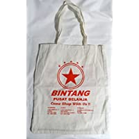 BALI/BINGTANG BEARビンタンビール/エコバッグ/生成り携帯/大