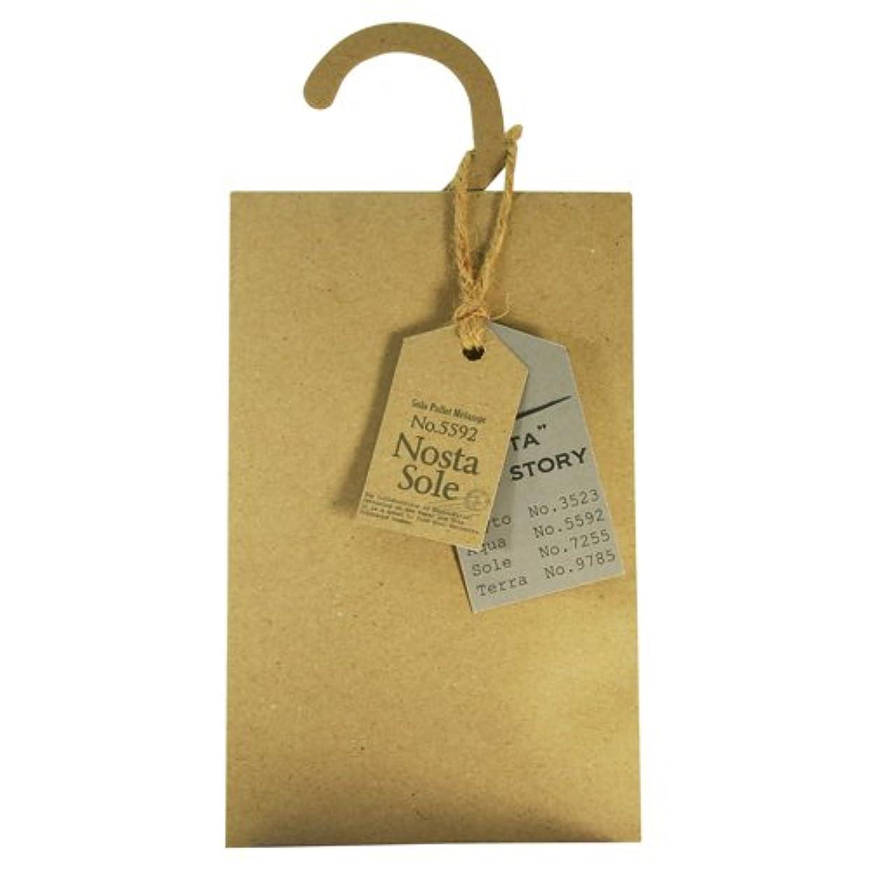 かもしれない散髪インカ帝国Nosta ノスタ Fragranced Hanger Sachet ハンガーサシェ Sole ソーレ / 太陽
