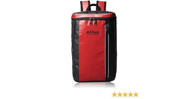 ddb2523bf9b5 Amazon | [モーブス] MOBUS トップオープンリュック MBKD505 RED/BLACK (レッド/ブラック) | リュックサック