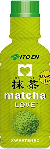 伊藤園 抹茶 matcha LOVE (SWEETENED) パウダーインキャップ 190ml 1箱(30本)